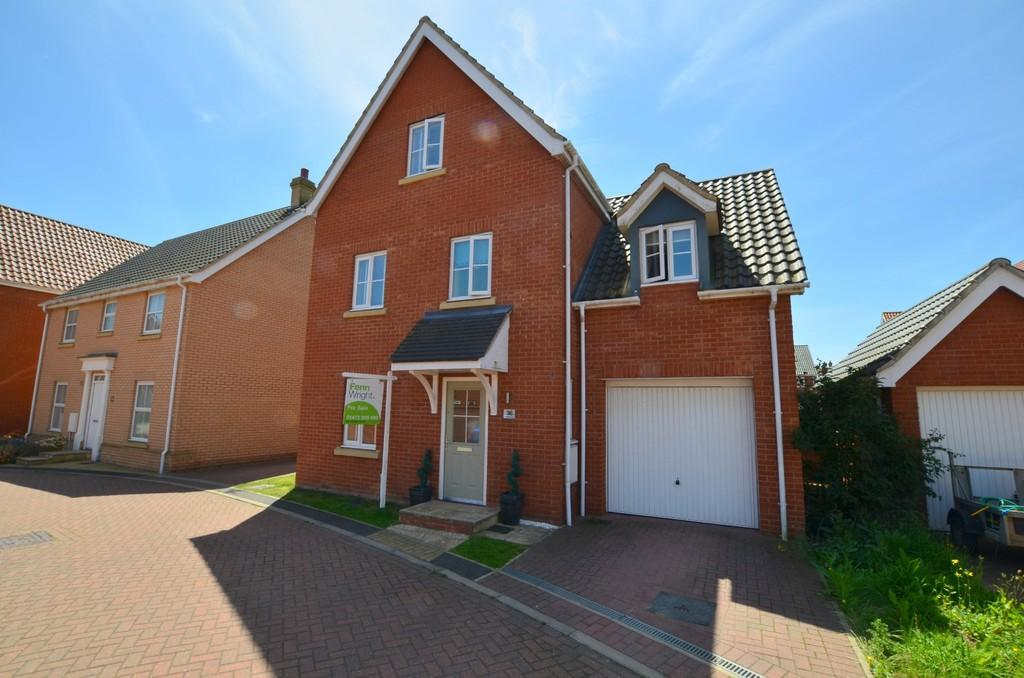 4 Bedrooms Detached House for sale in Mayhew Road, Rendlesham