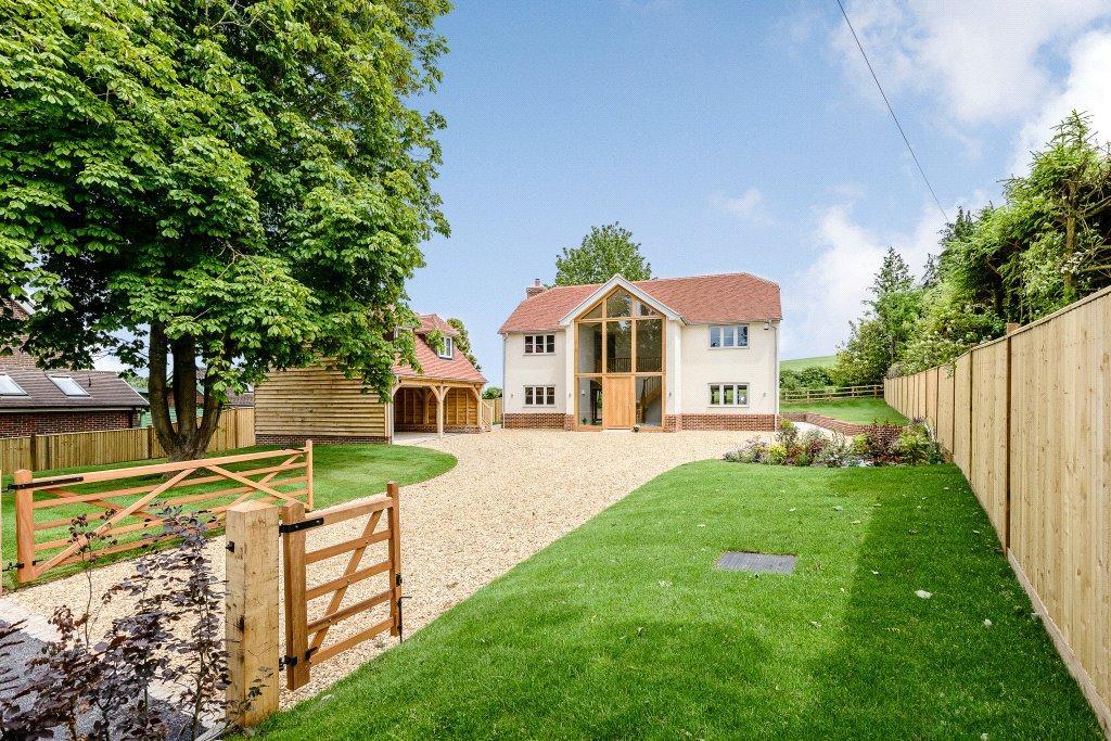 4 Bedrooms Detached House for sale in Up Somborne, Stockbridge, Hampshire, SO20