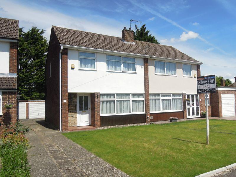 3 Bedrooms Semi Detached House for sale in Alderbury Road West, Langley