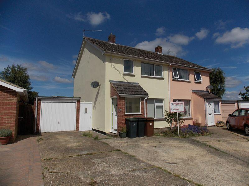 3 Bedrooms Semi Detached House for sale in Oakey Field Road, Thurston