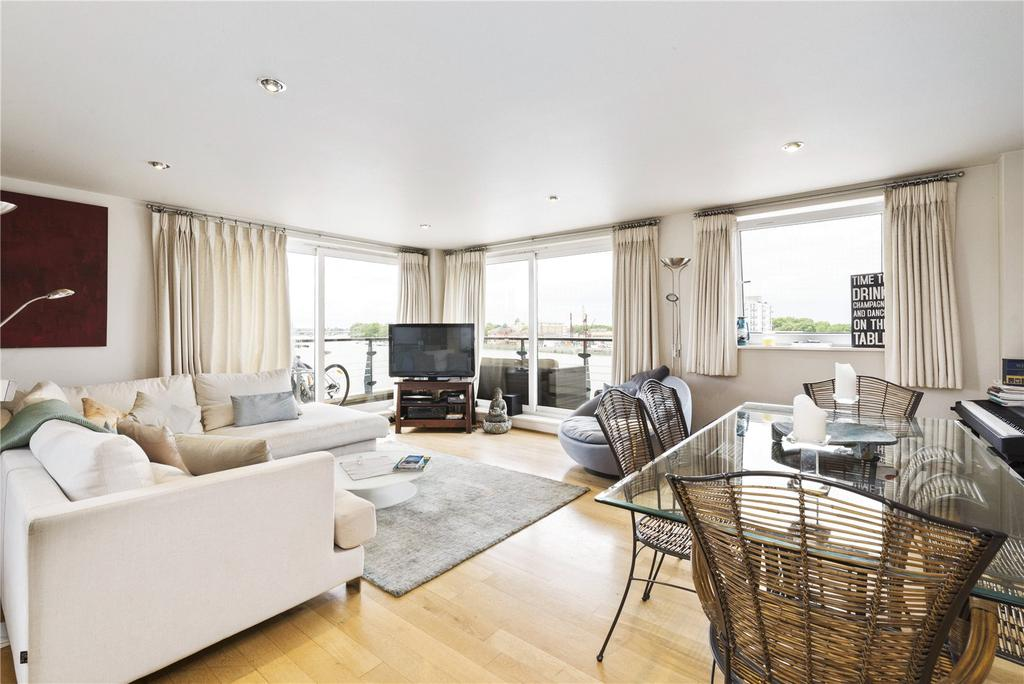 2 Bedrooms Flat for sale in Anchor House, Smugglers Way, London, SW18