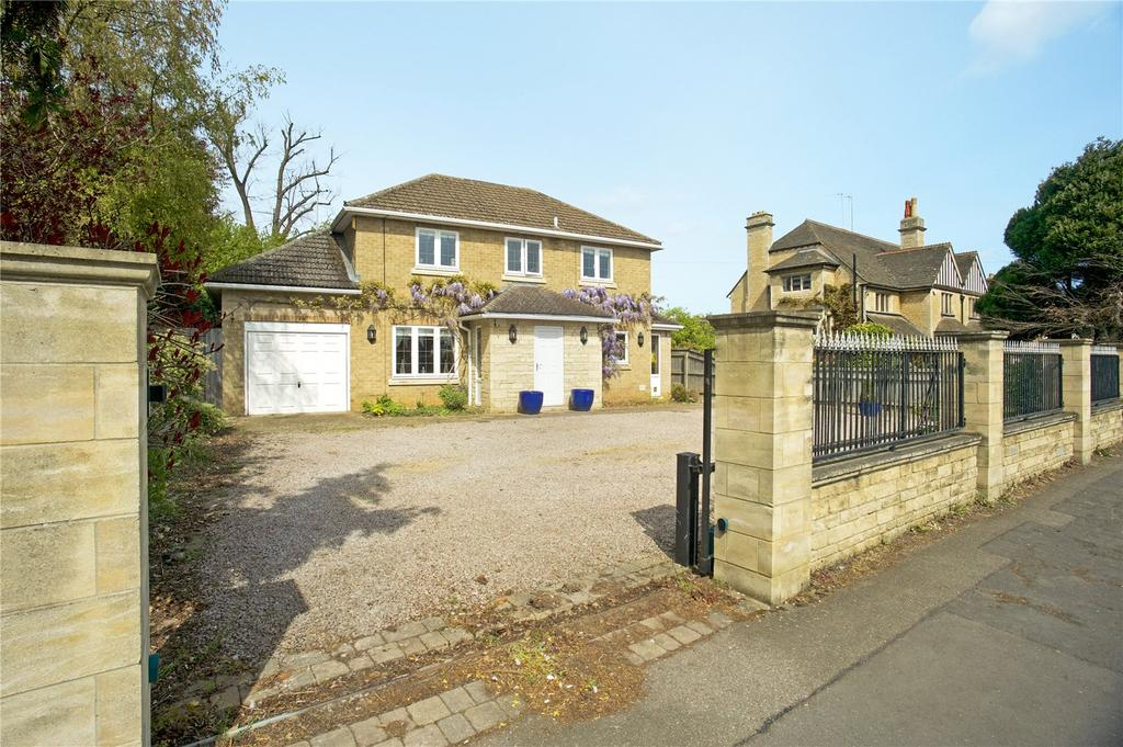 4 Bedrooms Detached House for sale in Empingham Road, Stamford, Lincolnshire, PE9