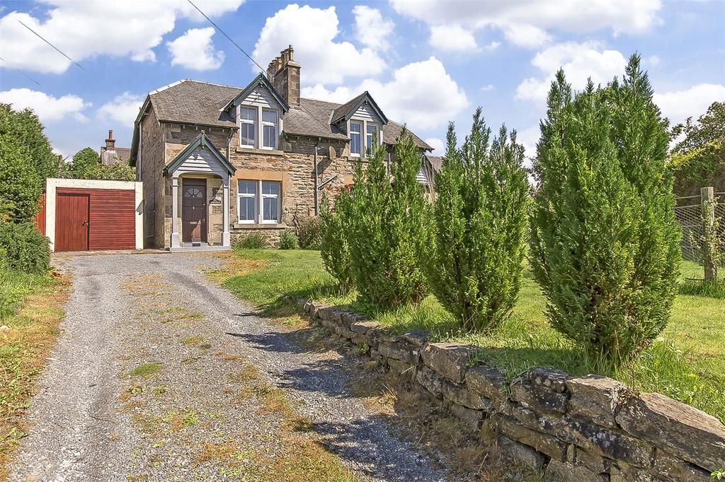 2 Bedrooms Semi Detached House for sale in Tighnault, 4 Church Road, Pitlochry, Perth, PH16