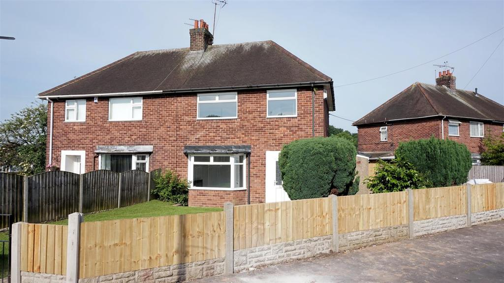 3 Bedrooms Semi Detached House for sale in Tenby Grove, Chesterton, Newcastle, Staffs