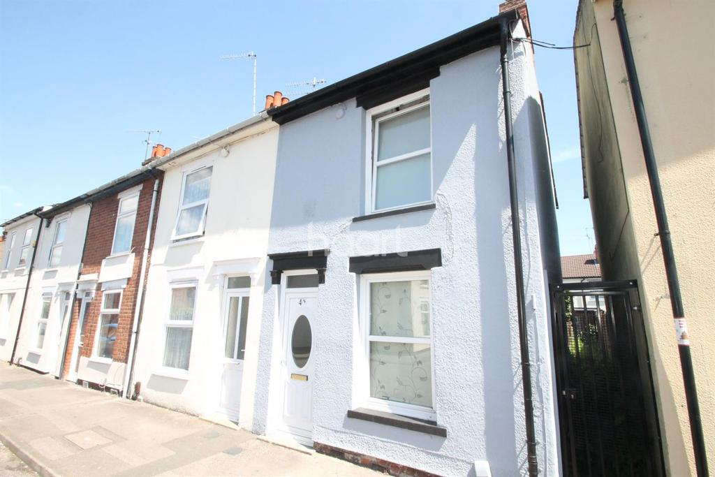 2 Bedrooms End Of Terrace House for sale in Hartley Street, Ipswich