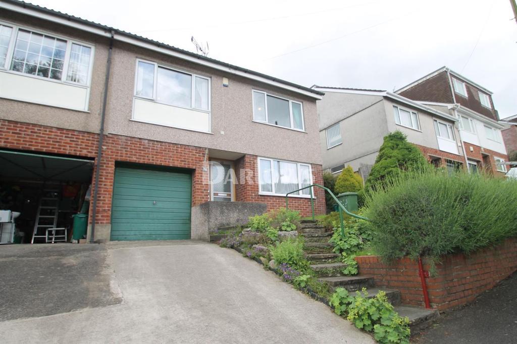3 Bedrooms Semi Detached House for sale in Silverhill Close, Cilfynydd