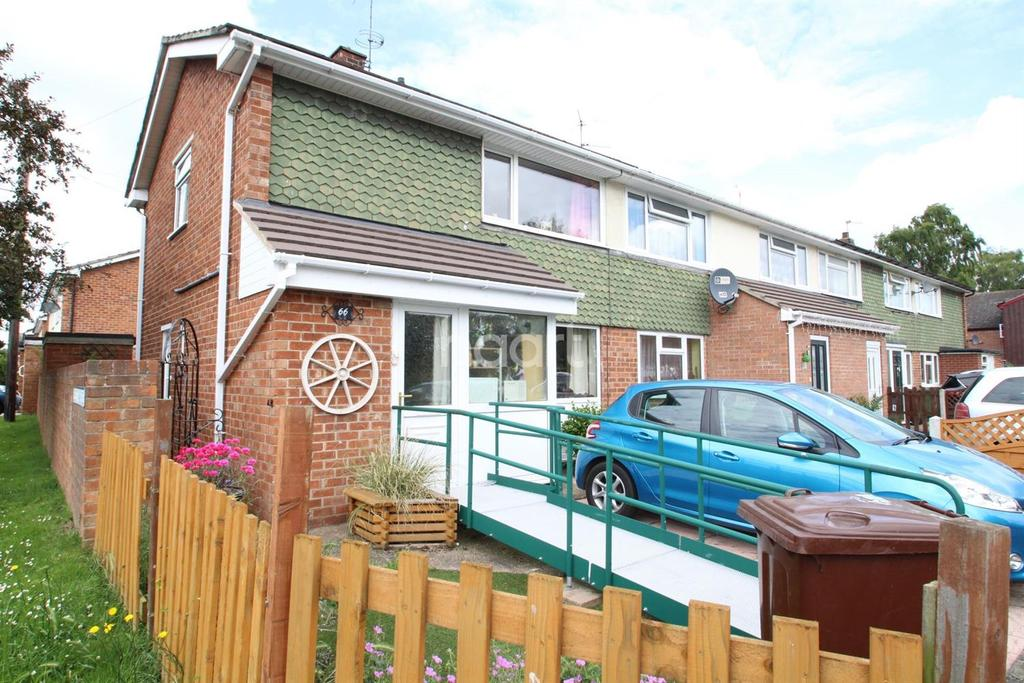 2 Bedrooms End Of Terrace House for sale in Woodfield Avenue, Lincoln