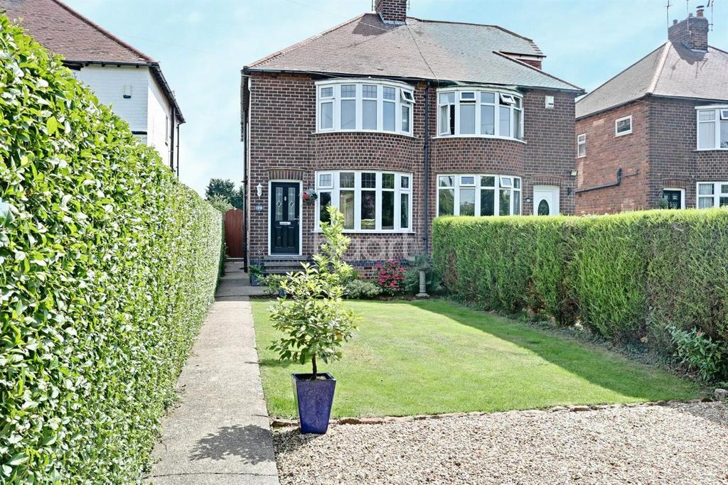 4 Bedrooms Semi Detached House for sale in Ruddington Lane, Wilford, Nottingham