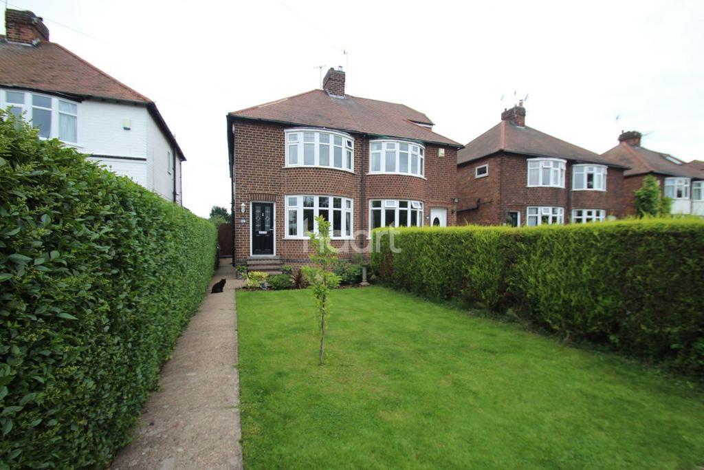 4 Bedrooms Semi Detached House for sale in Ruddington Lane, Wilford, Nottingham