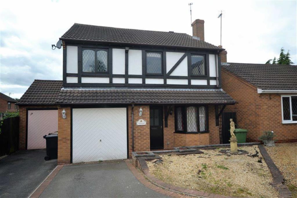 4 Bedrooms Detached House for sale in Tiverton Drive, Horeston Grange, Nuneaton
