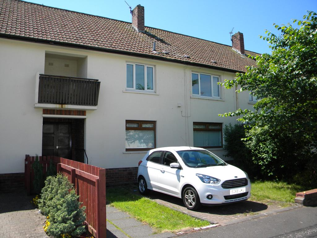 2 Bedrooms Duplex Flat for sale in Callender Place, Ayr KA8