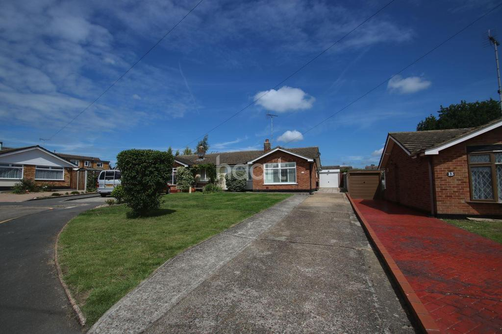 2 Bedrooms Bungalow for sale in Gimson Close, Witham, CM8