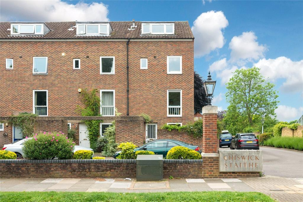 5 Bedrooms End Of Terrace House for sale in Chiswick Staithe, Hartington Road, London