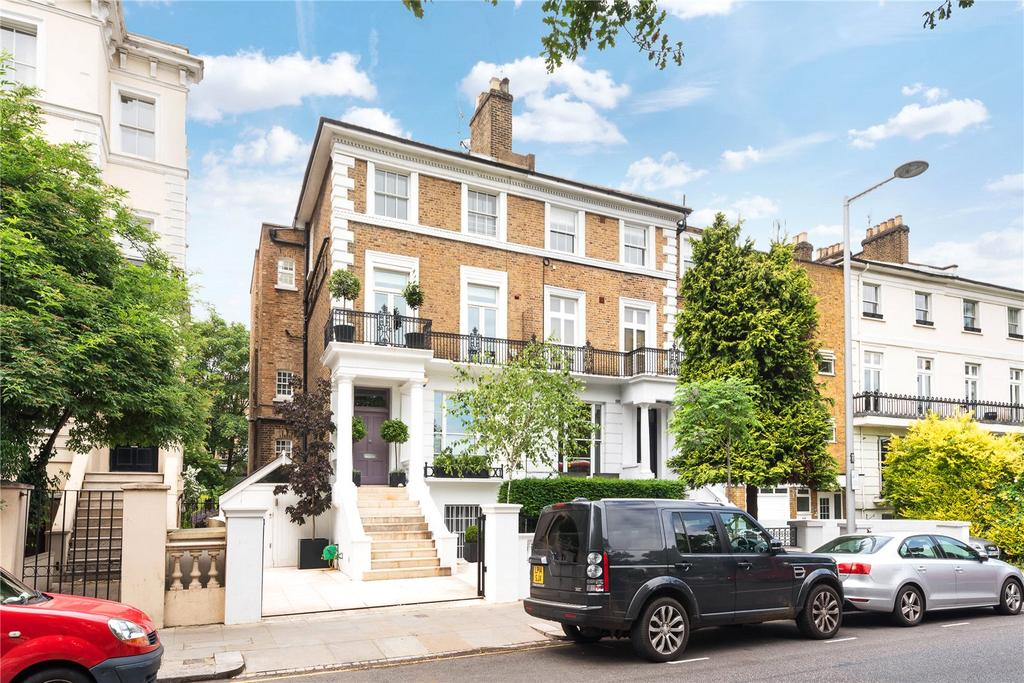 5 Bedrooms Semi Detached House for sale in Pembridge Villas, Notting Hill, London