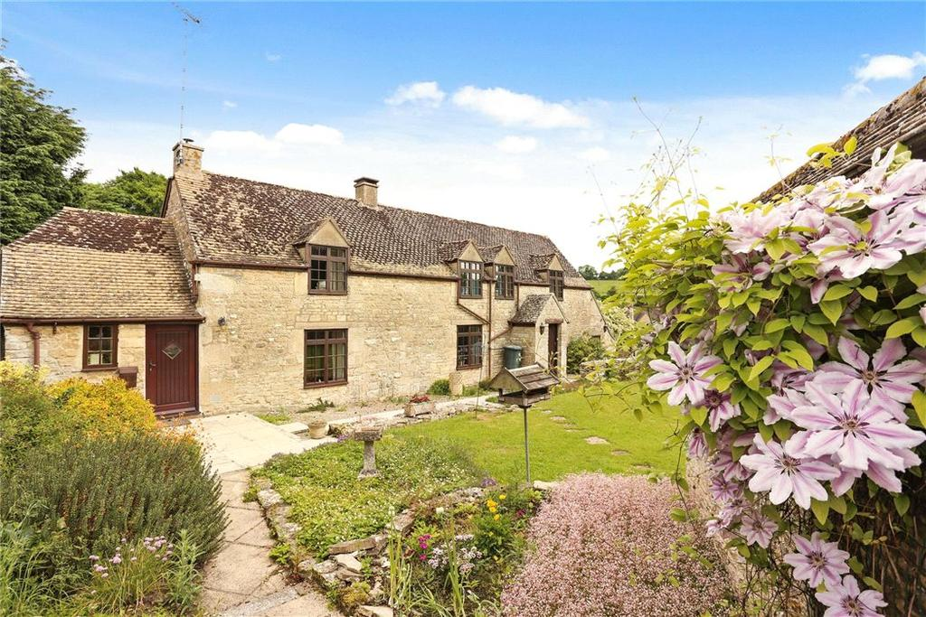 3 Bedrooms Detached House for sale in Duntisbourne Abbotts, Cirencester, GL7