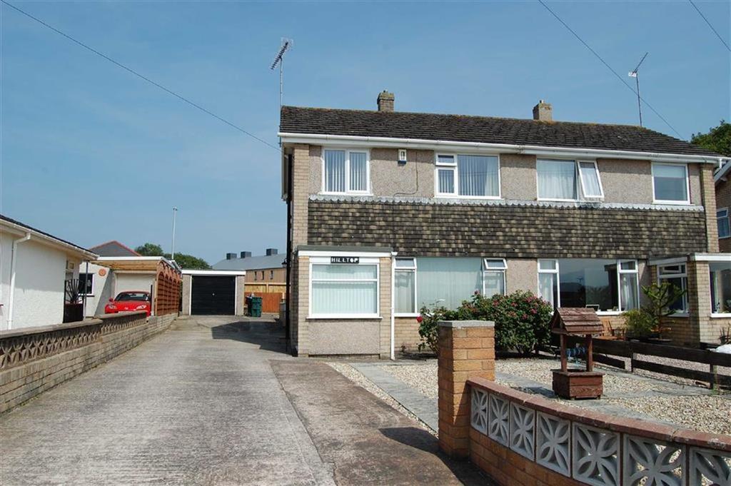 3 Bedrooms Semi Detached House for sale in Pendyffryn, Llandudno Junction, Conwy