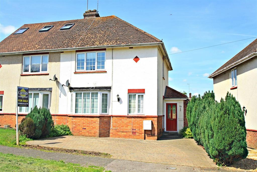 3 Bedrooms Semi Detached House for sale in Chestnut Crescent, Bletchley, Milton Keynes