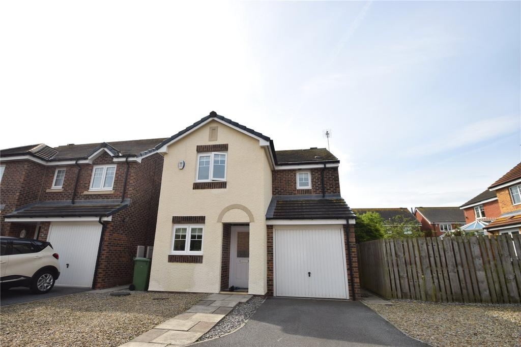 3 Bedrooms Detached House for sale in Staithes Court, East Shore Village, Seaham, Co.Durham, SR7