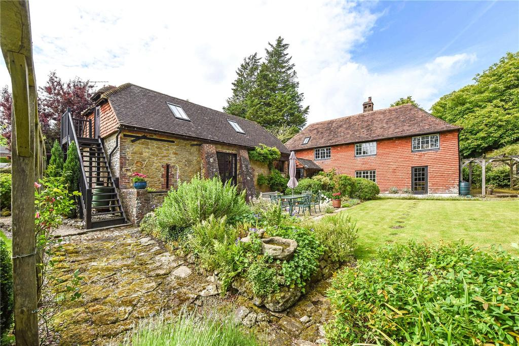5 Bedrooms Detached House for sale in Hollist Lane, Easebourne, Midhurst, West Sussex, GU29