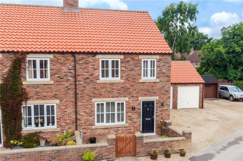 3 Bedrooms Semi Detached House for sale in Mews Court, Watermill Lane, North Stainley, Ripon