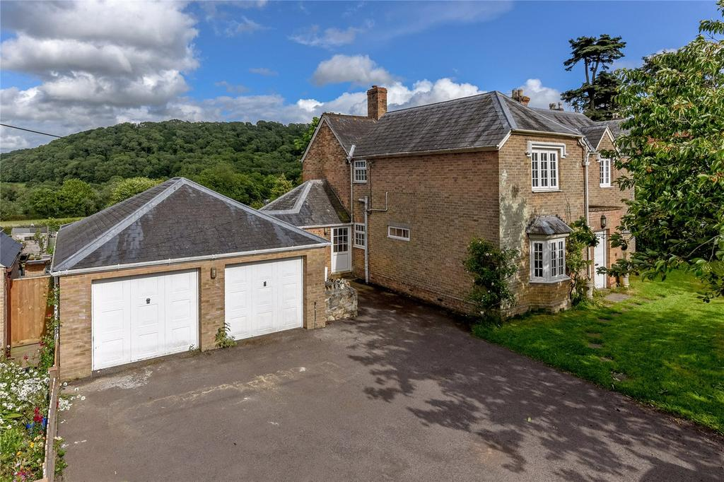 4 Bedrooms Detached House for sale in Corfe, Taunton, Somerset