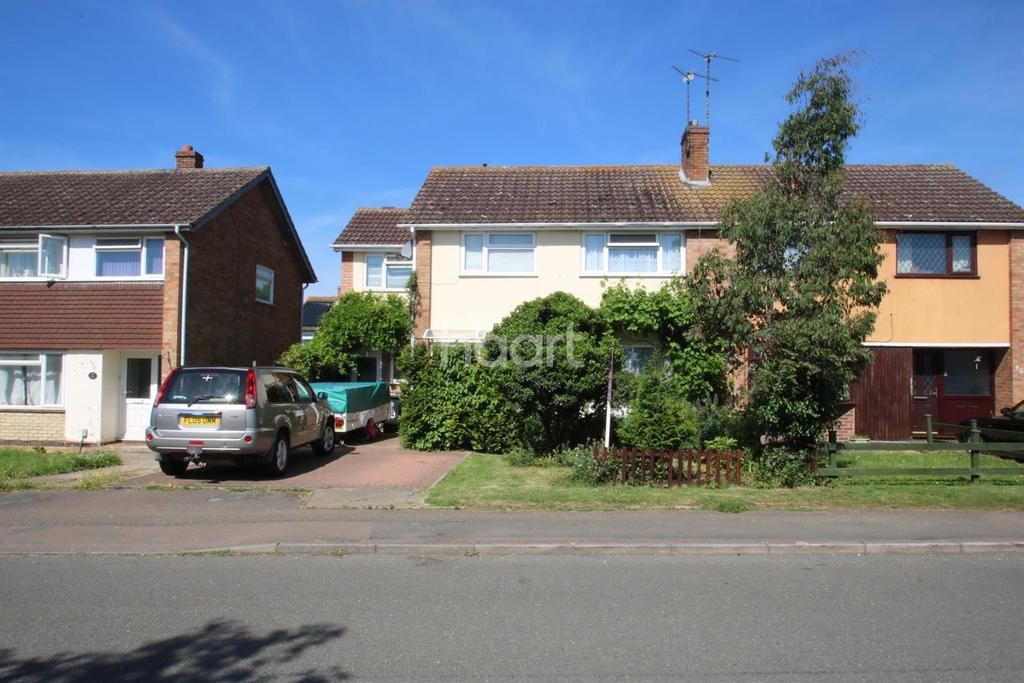 4 Bedrooms Semi Detached House for sale in Windmill Lane Raunds