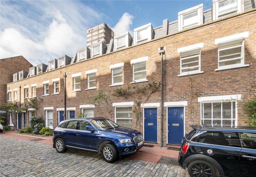 2 Bedrooms House for sale in Shrewsbury Mews, London, W2