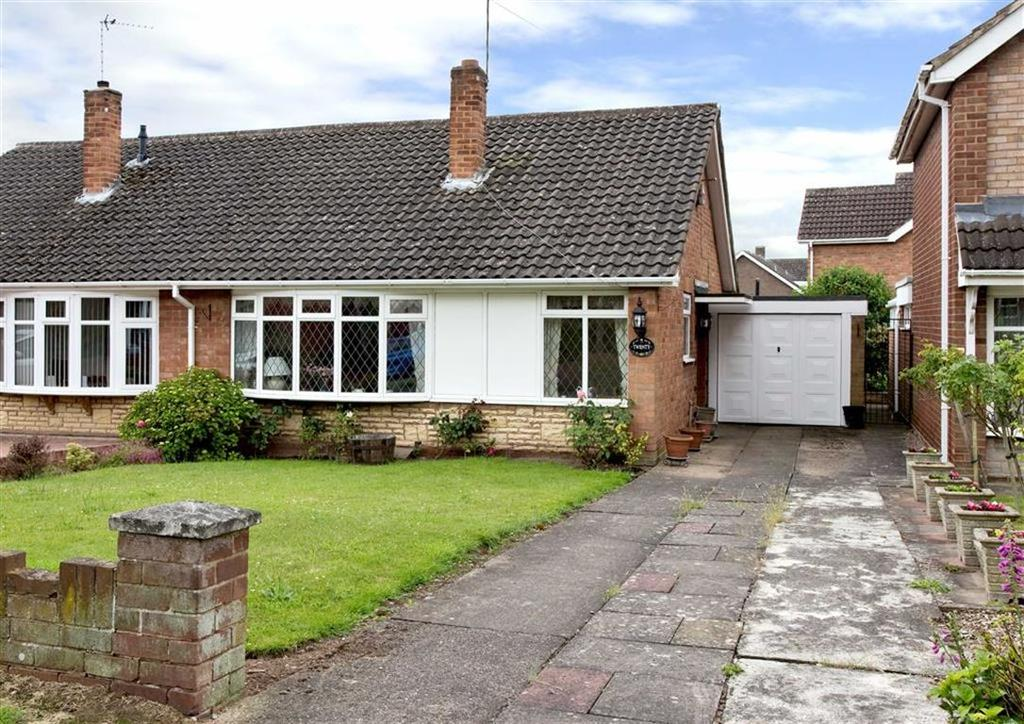 2 Bedrooms Semi Detached Bungalow for sale in 20, Walk Lane, Wombourne, Wolverhampton, South Staffordshire, WV5
