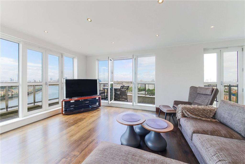 4 Bedrooms Flat for sale in Belgrave Court, 36 Westferry Circus, Nr Canary Wharf, London, E14