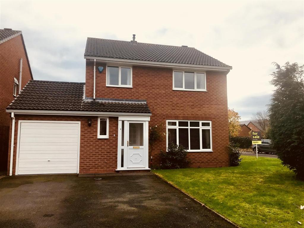 4 Bedrooms Detached House for sale in Pantulf Road, Wem, Shrewsbury