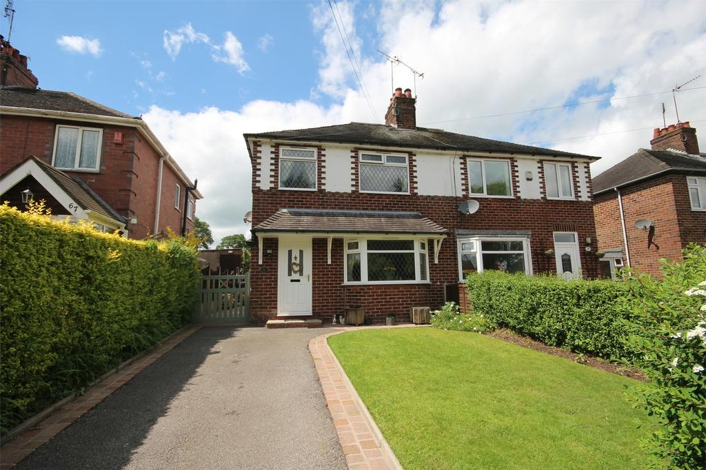 3 Bedrooms Semi Detached House for sale in Churnet Valley Road, Kingsley Holt, Staffordshire
