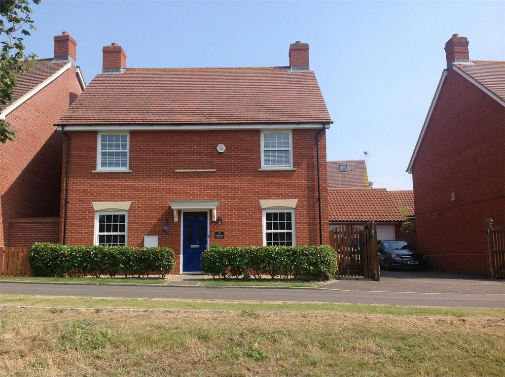 4 Bedrooms Detached House for sale in Cornflower Crescent, Stotfold, Hitchin, Hertdfordshire