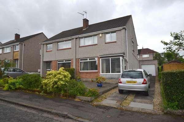 3 Bedrooms Semi-detached Villa House for sale in 4 Skye Gardens, Bearsden, Glasgow, G61 4ED