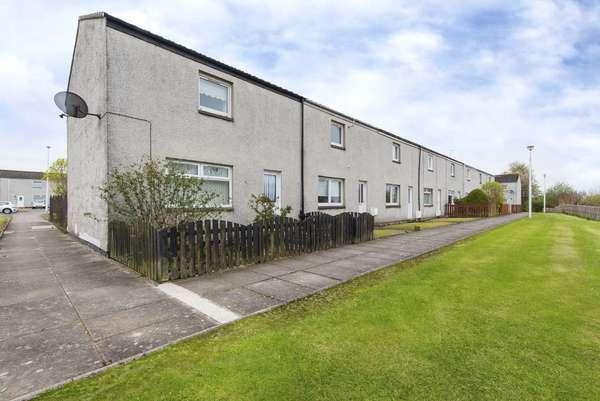 2 Bedrooms End Of Terrace House for sale in 74 Honeybank Crescent, Carluke, ML8 4BZ