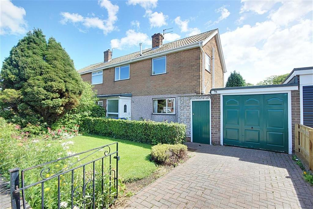 3 Bedrooms Semi Detached House for sale in Lyndon Grove, East Boldon, Tyne Wear