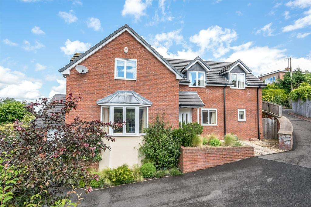 4 Bedrooms Detached House for sale in The Orchard, Quarry Gardens, Ludlow, Shropshire