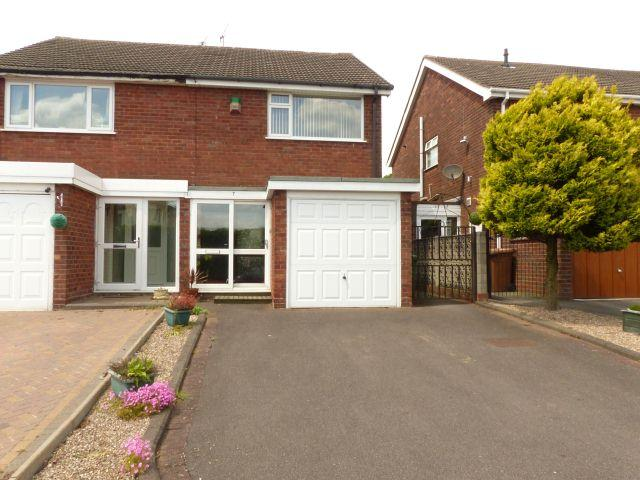3 Bedrooms Semi Detached House for sale in Hillside Crescent,Pelsall,Walsall