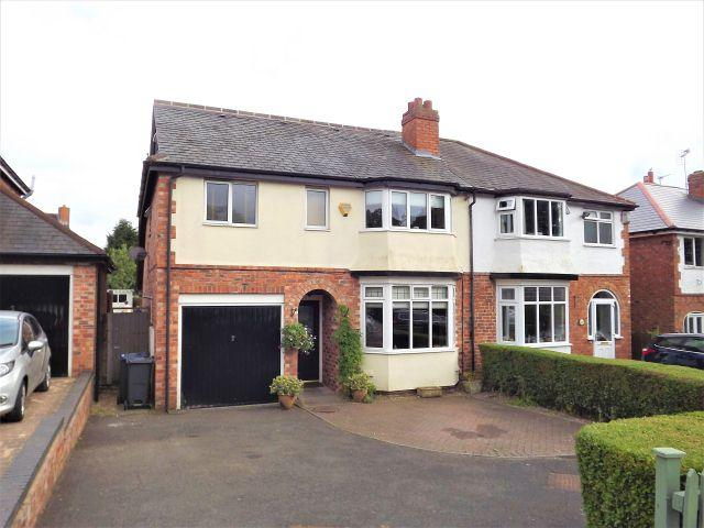 4 Bedrooms Semi Detached House for sale in Church Road,Boldmere,Sutton Coldfield