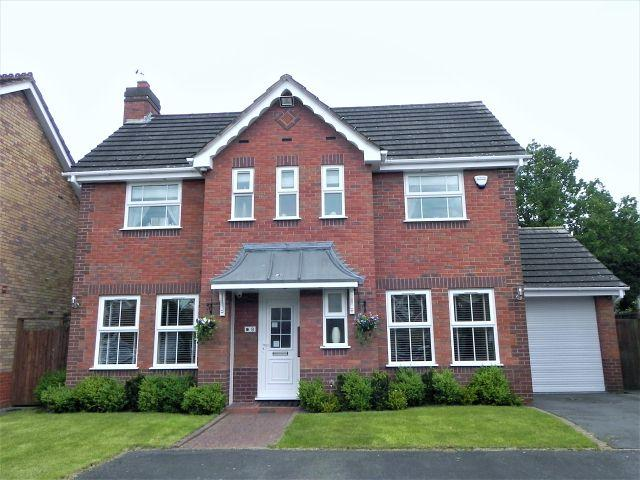 3 Bedrooms Detached House for sale in Littleton Close,Sutton Coldfield,West Midlands