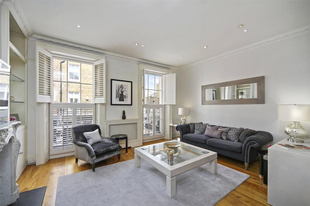 2 Bedrooms Maisonette Flat for sale in Motcomb Street, Belgravia, London, SW1X