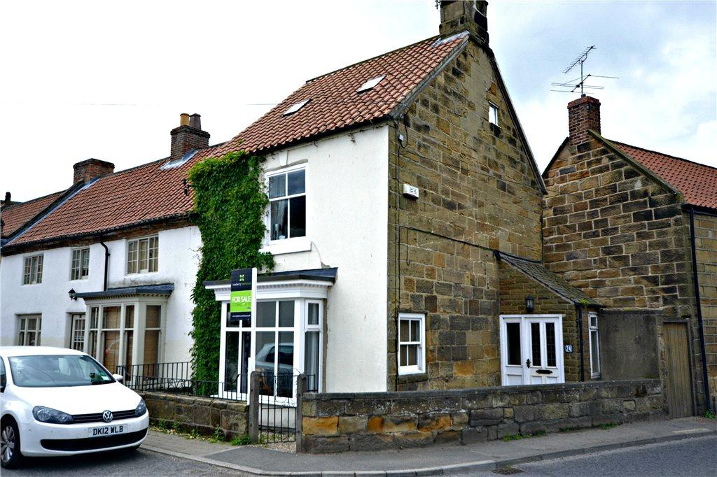 Yorkshire Terrace: Bridge Street, Great Ayton, North Yorkshire 3 Bed End Of