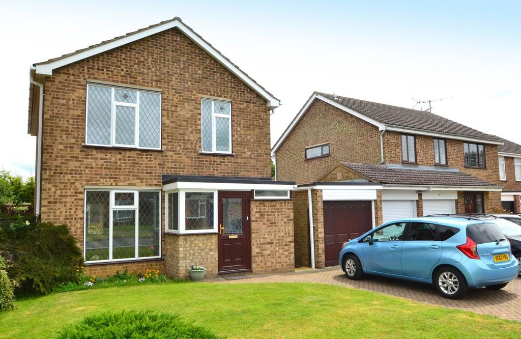 3 Bedrooms Detached House for sale in White Horse Road, Capel St. Mary, Ipswich, Suffolk