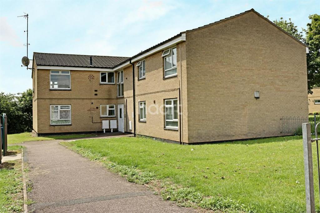 2 Bedrooms Flat for sale in Holgate Walk, Hucknall