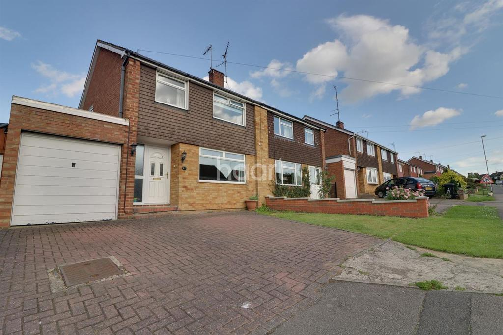 3 Bedrooms Semi Detached House for sale in Firsview Drive, Duston, Northampton
