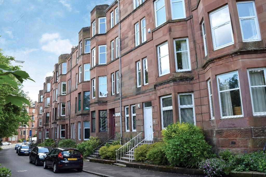 1 Bedroom Flat for sale in Bellwood Street , Flat 1/1, Shawlands , Glasgow, G41 3EU
