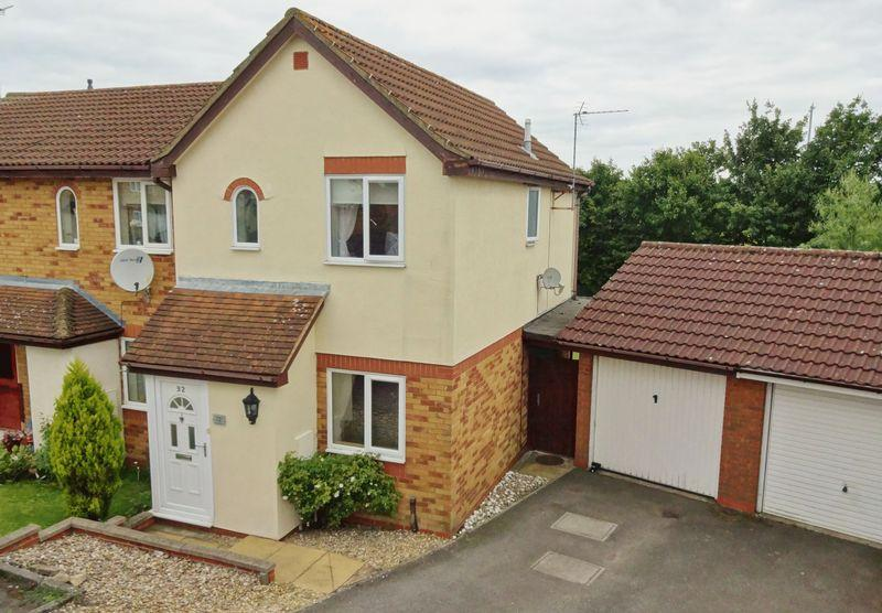 2 Bedrooms End Of Terrace House for sale in Inwood Close, Corby