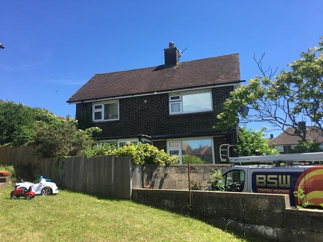 2 Bedrooms End Of Terrace House for sale in Langley Crescent, Woodingdean, Brighton, East Sussex.