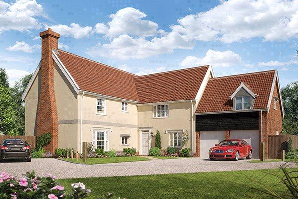 5 Bedrooms Detached House for sale in Plot 20, The Sudbury, Foundry Place, Grundisburgh, Woodbridge, IP13