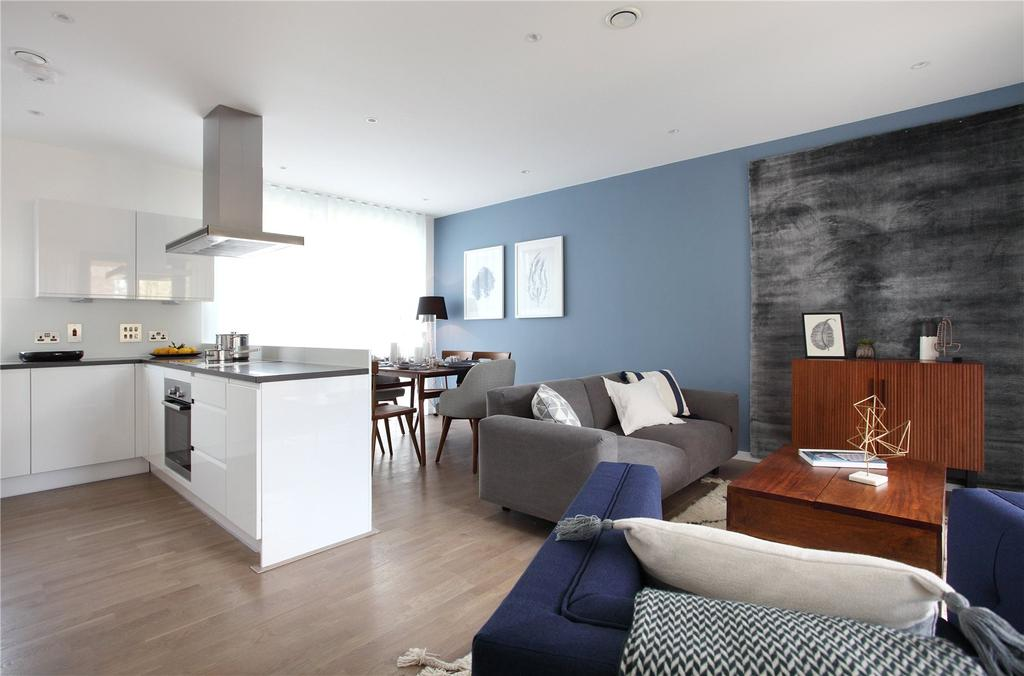 3 Bedrooms Flat for sale in The Gramercy, Creek Road, Greenwich, London, SE10