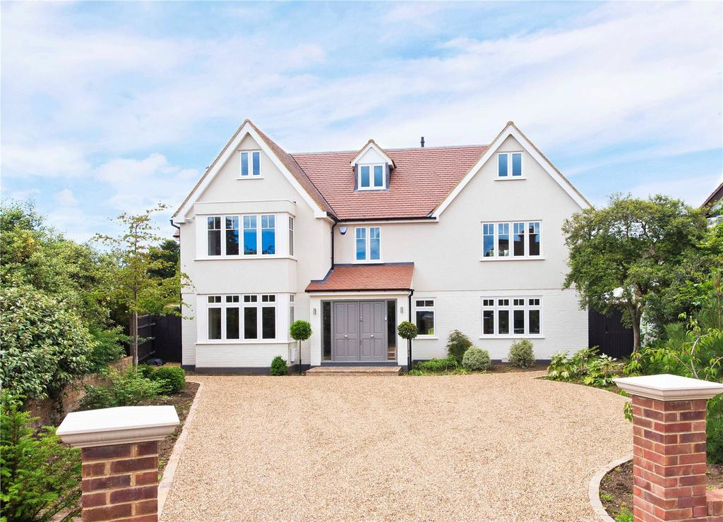 5 Bedrooms Detached House for sale in Portsmouth Avenue, Thames Ditton, Surrey, KT7